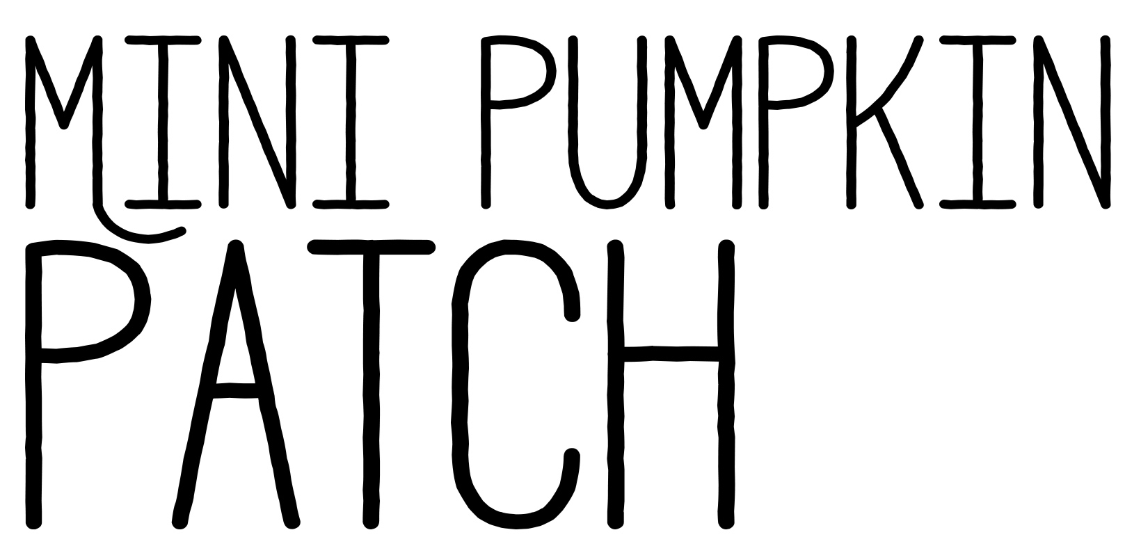 Mini Pumpkin Patch - Crochet Pattern - The Roving Nomad