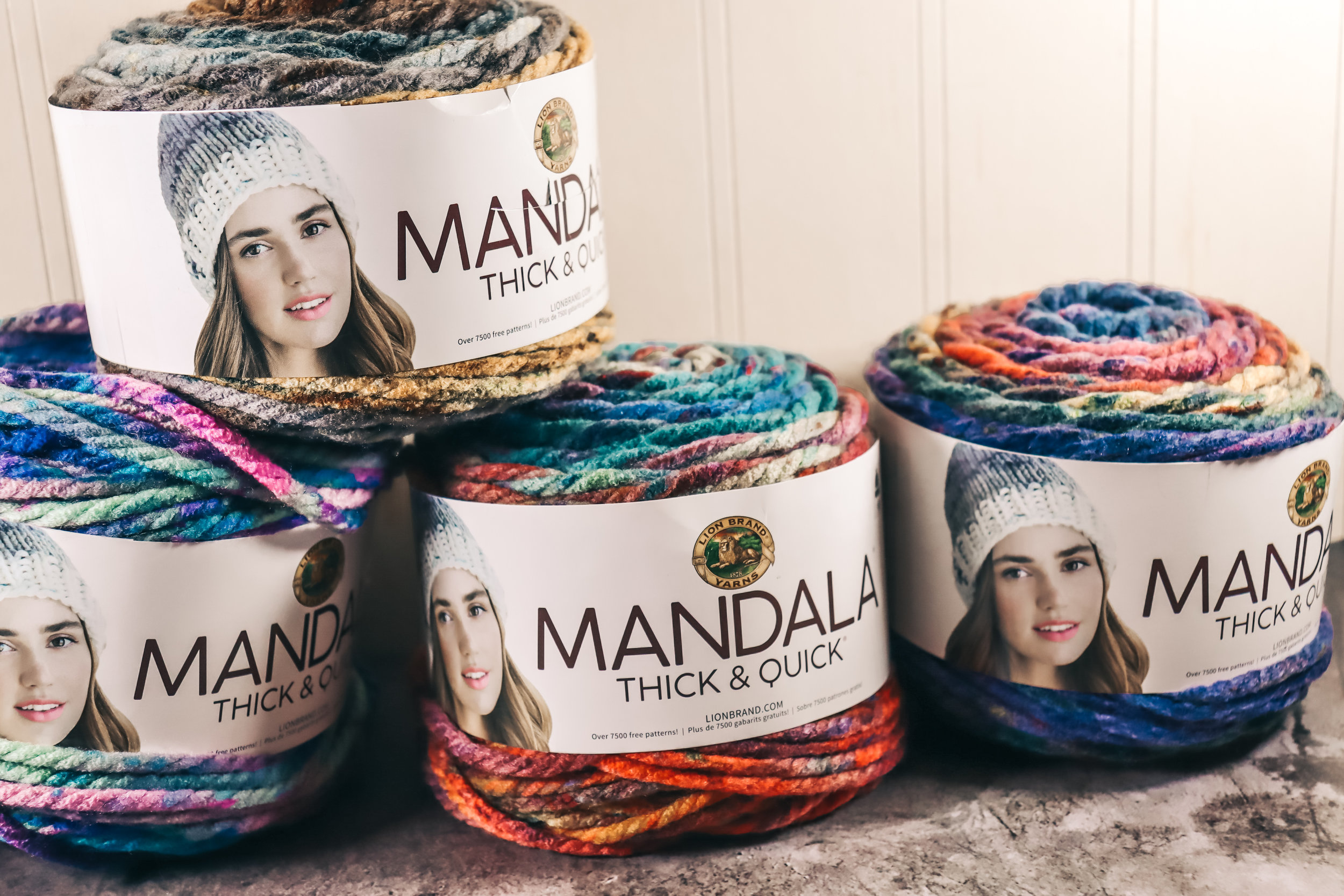 Mandala Thick & Quick - Fibers - The Roving Nomad
