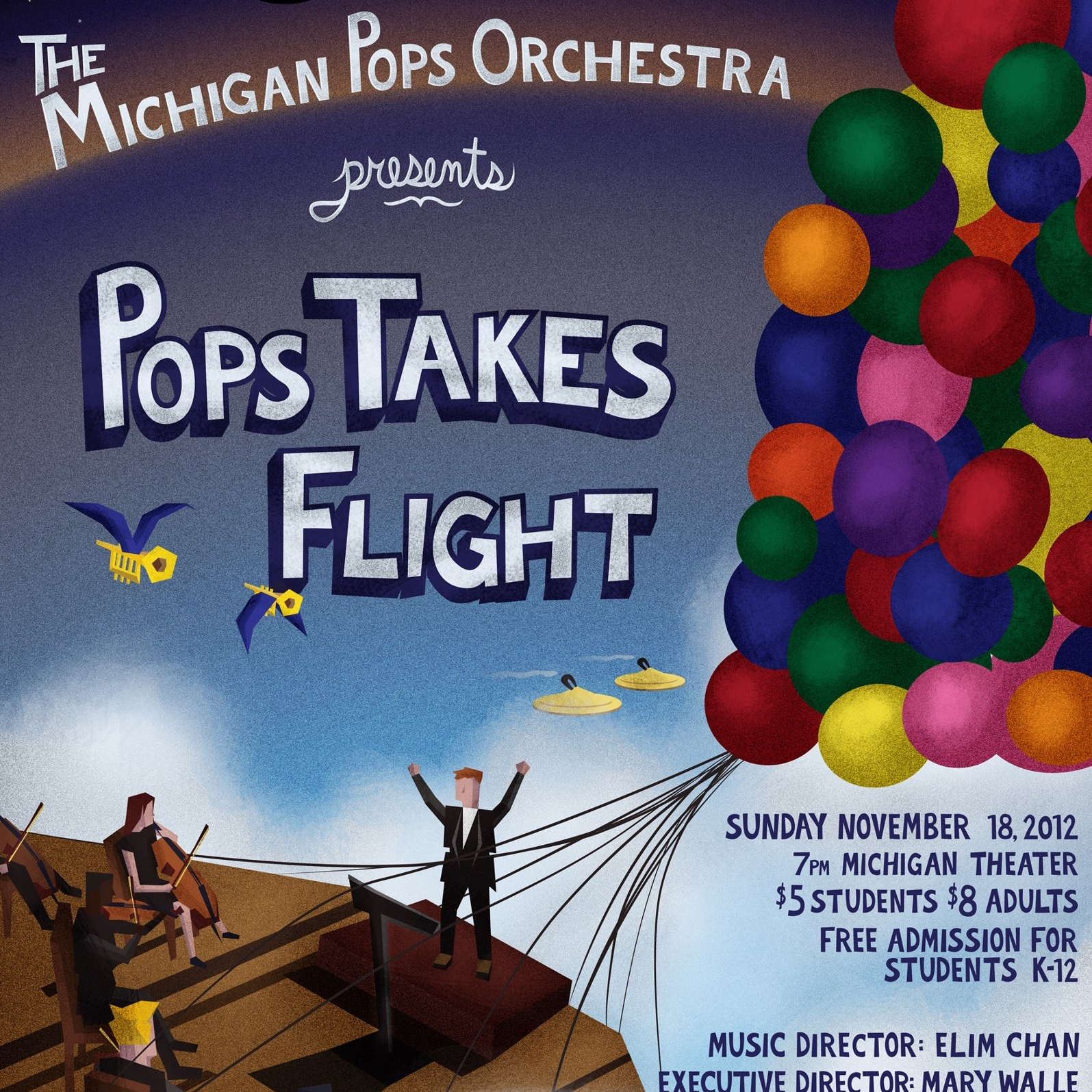 Pops Takes Flight - Fall 2012