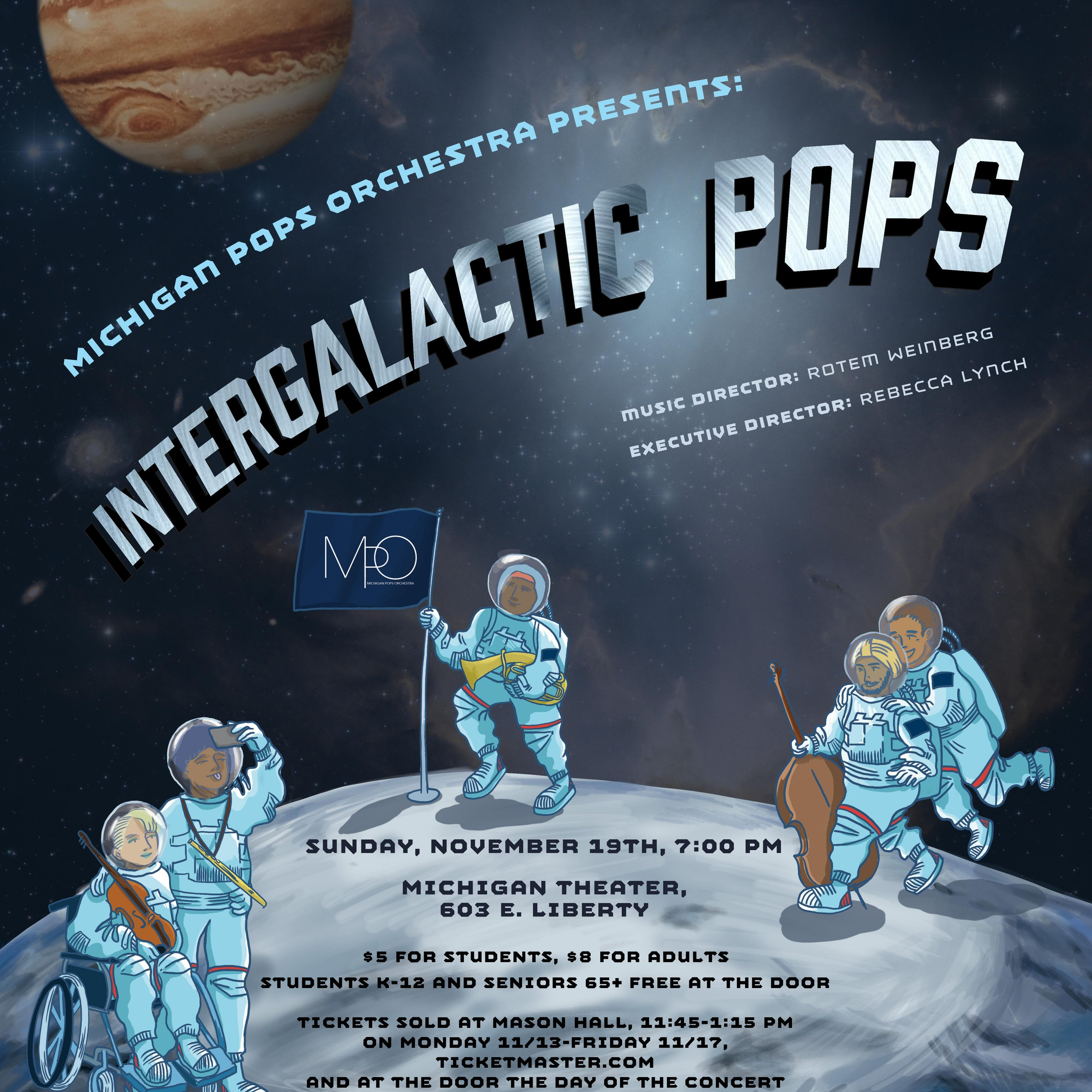 Intergalactic Pops - Fall 2017