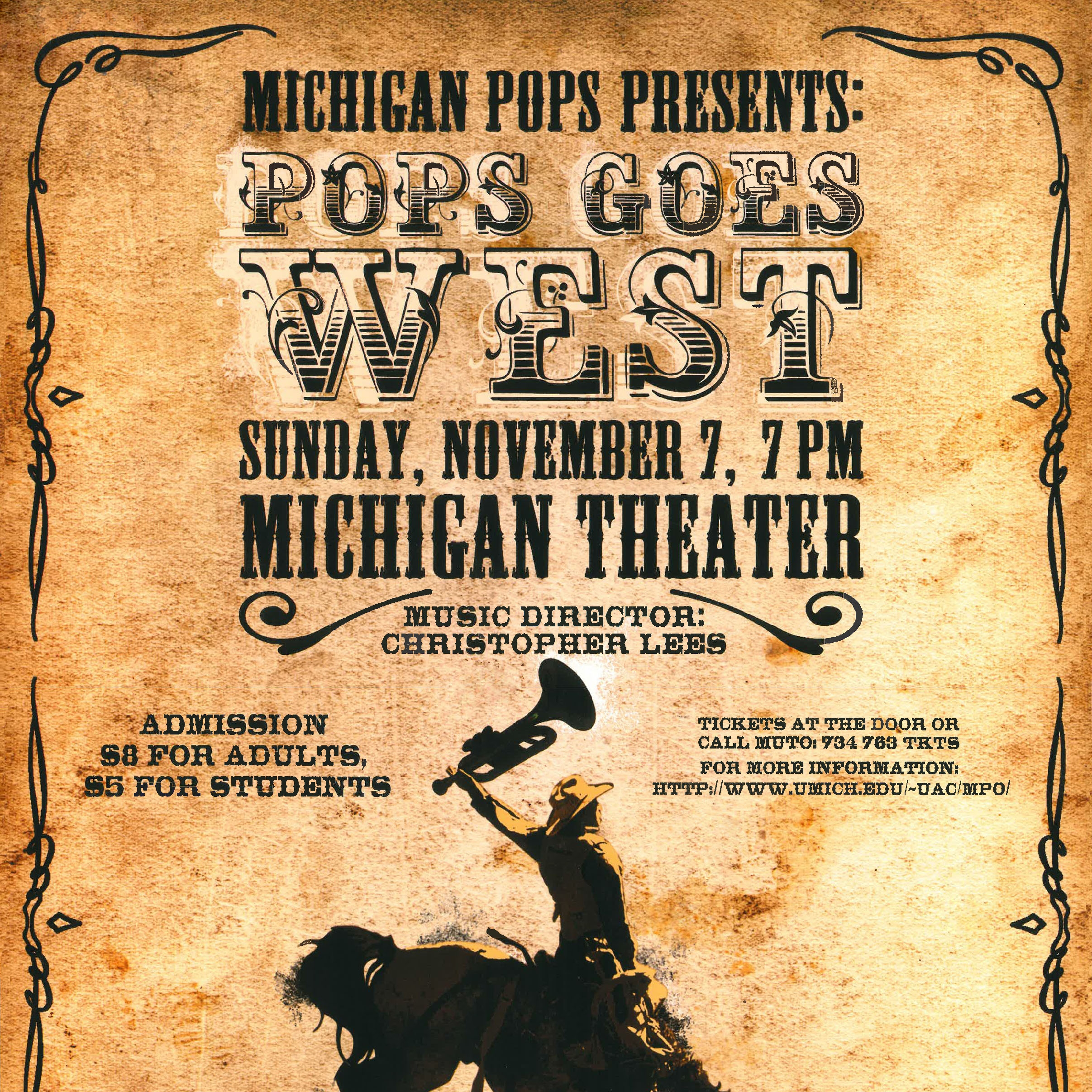 Pops Goes West - Fall 2004