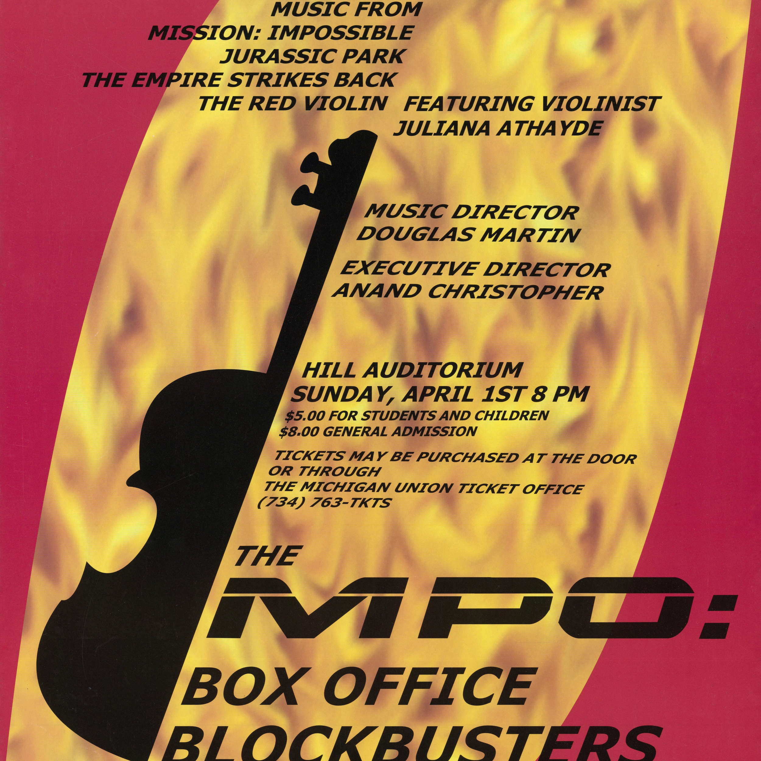 Box Office Blockbusters - Winter 2001