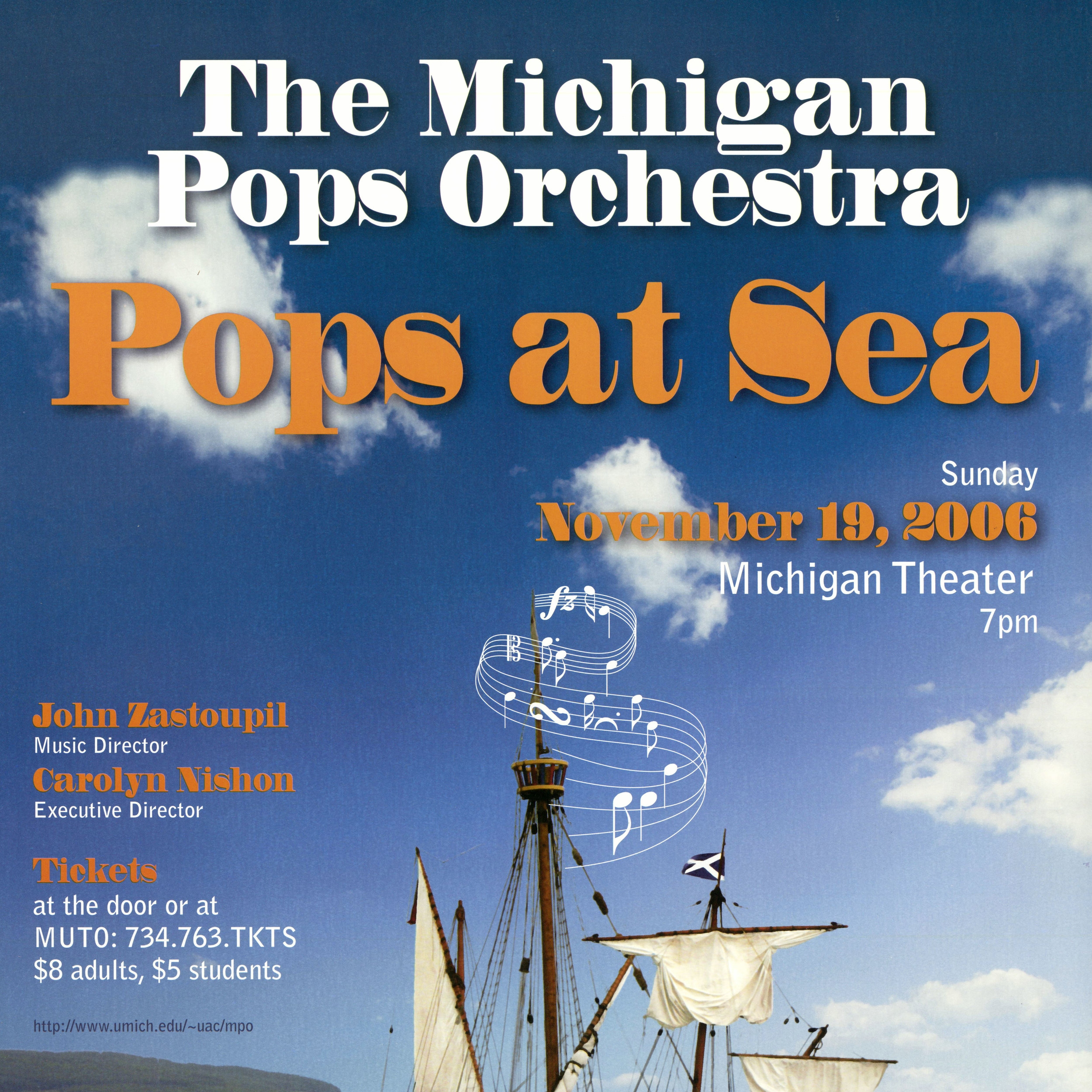 Pops at Sea - Fall 2006