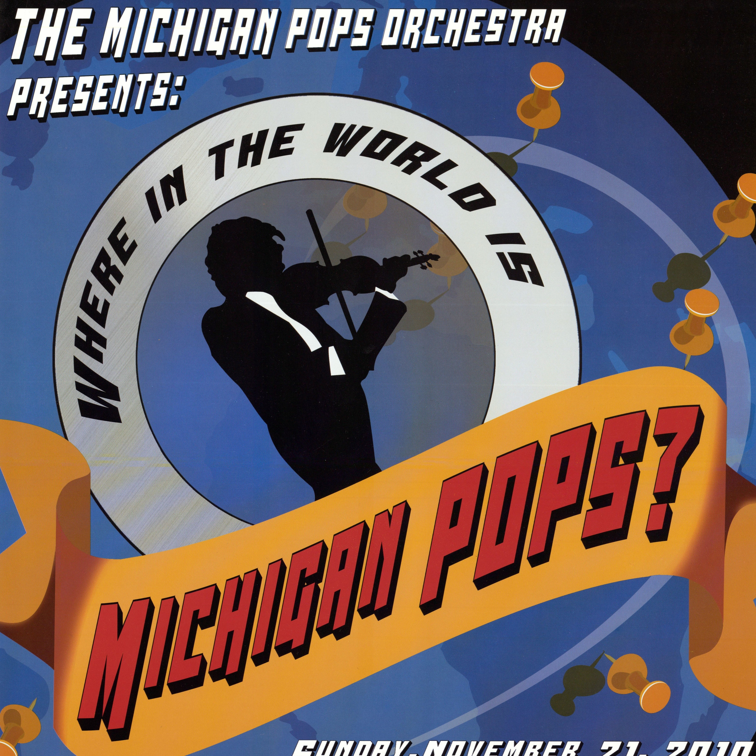 Where in the World is Michigan Pops? - Fall 2010