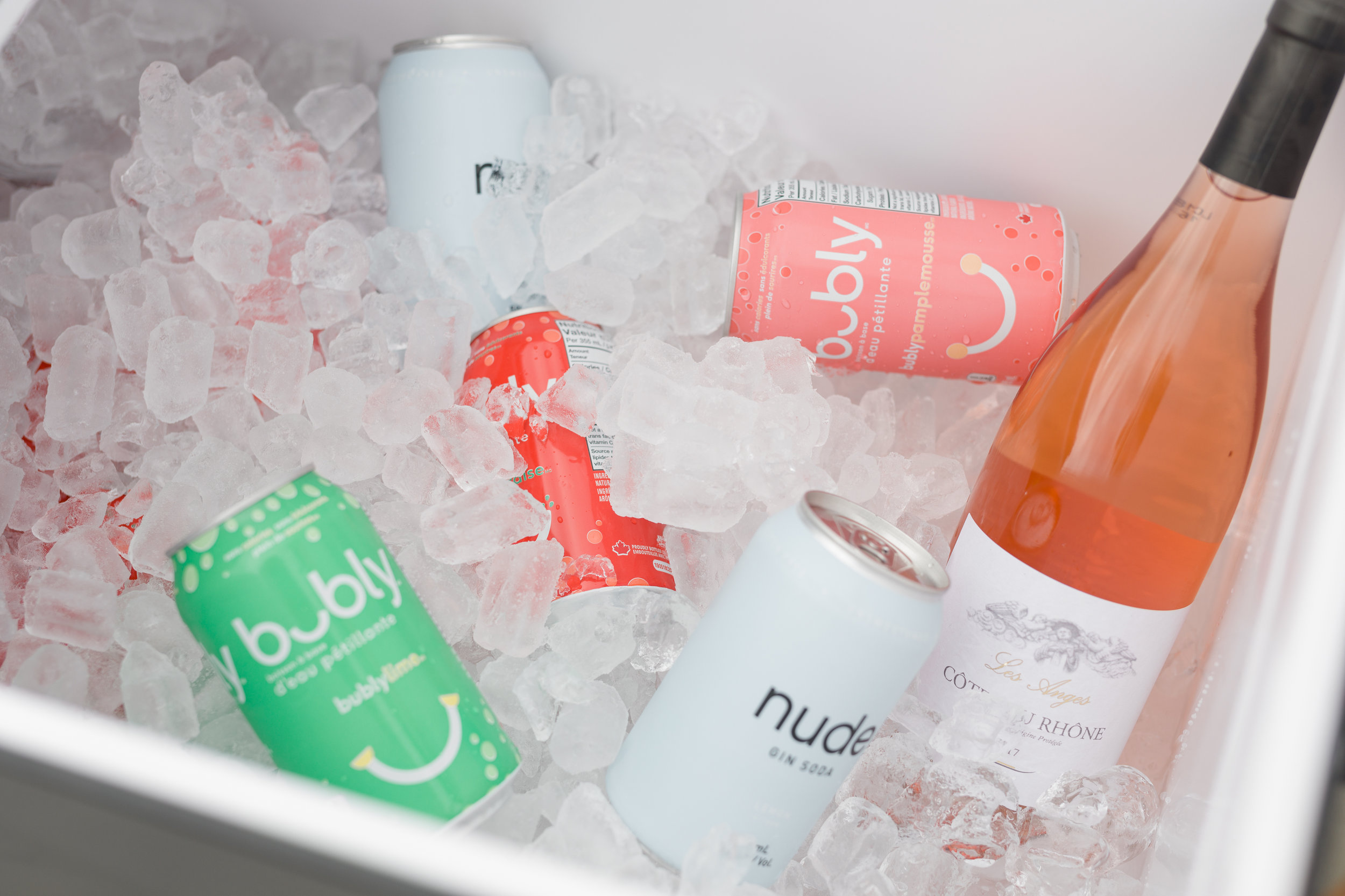 Who needs an outdoor fridge when you have a rolling cooler? Your portable bartender - it can even remove bottle caps!