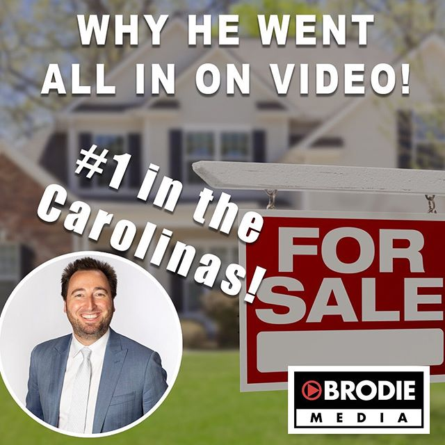 New podcast is up! How @patrick.russell.oconnor became the number 1 #coldwellbanker #realtor in the Carolinas and why he went all in on #videomarketing  Search for Brodie Media on your favorite podcast platform and subscribe.  #realestate #realestatemarketing #realtorlife #realtorsofinstagram
