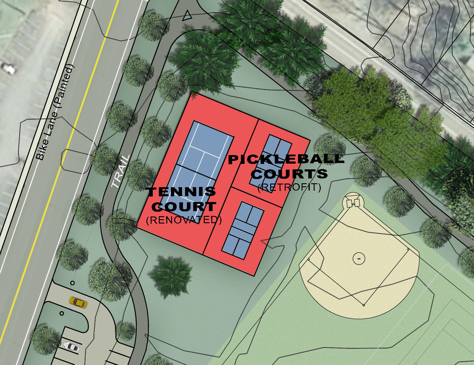 Proposed New Courts -