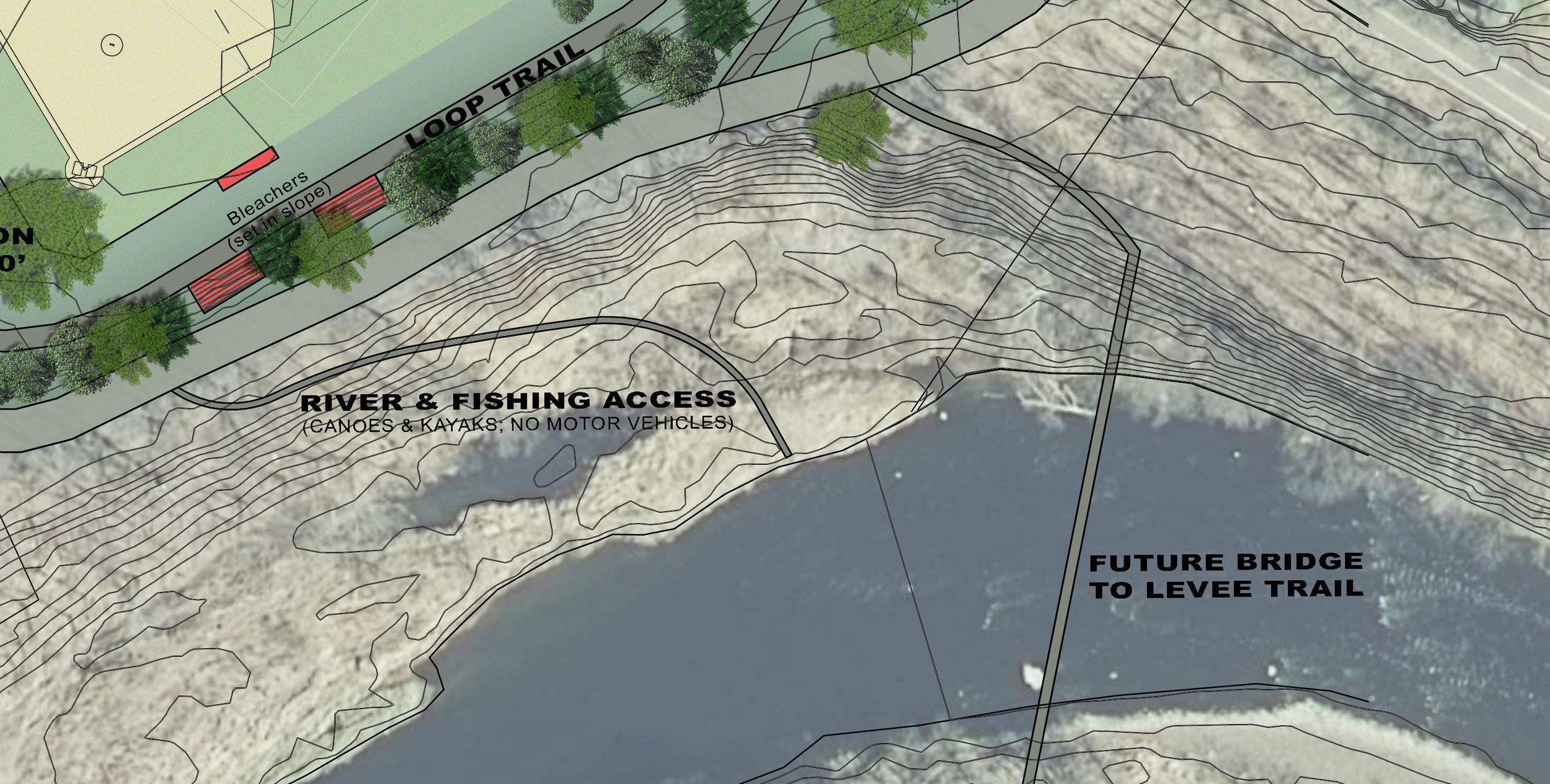 Proposed River Access -