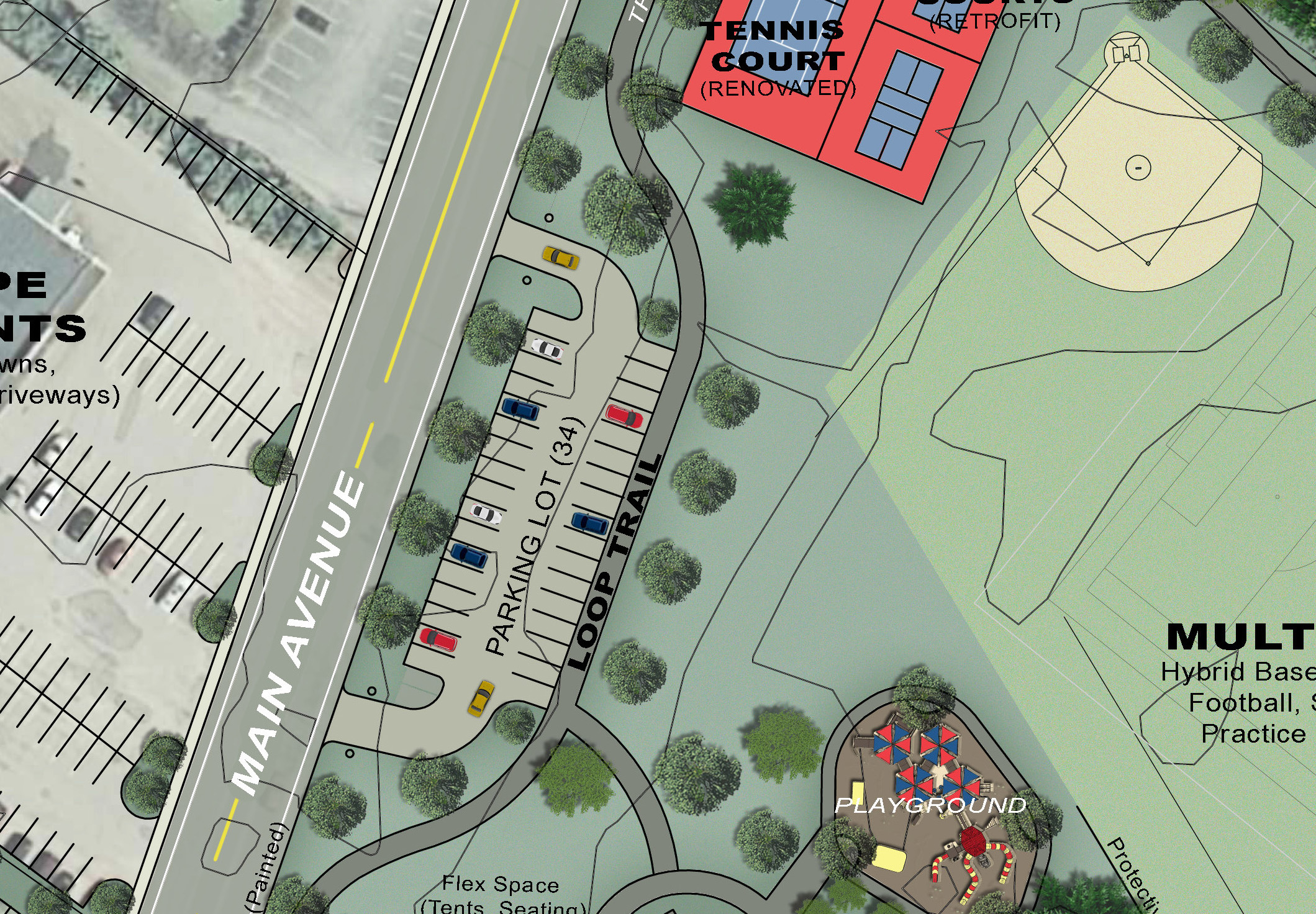 Proposed Additional Parking -