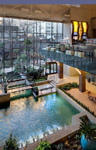 Hyatt Regency HotelSan Antonio Riverwalk, Texas - Watch this space for coming attractions…..