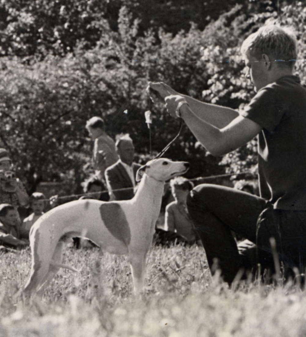 Bo with Locomite at their first show, Sweden 1962.