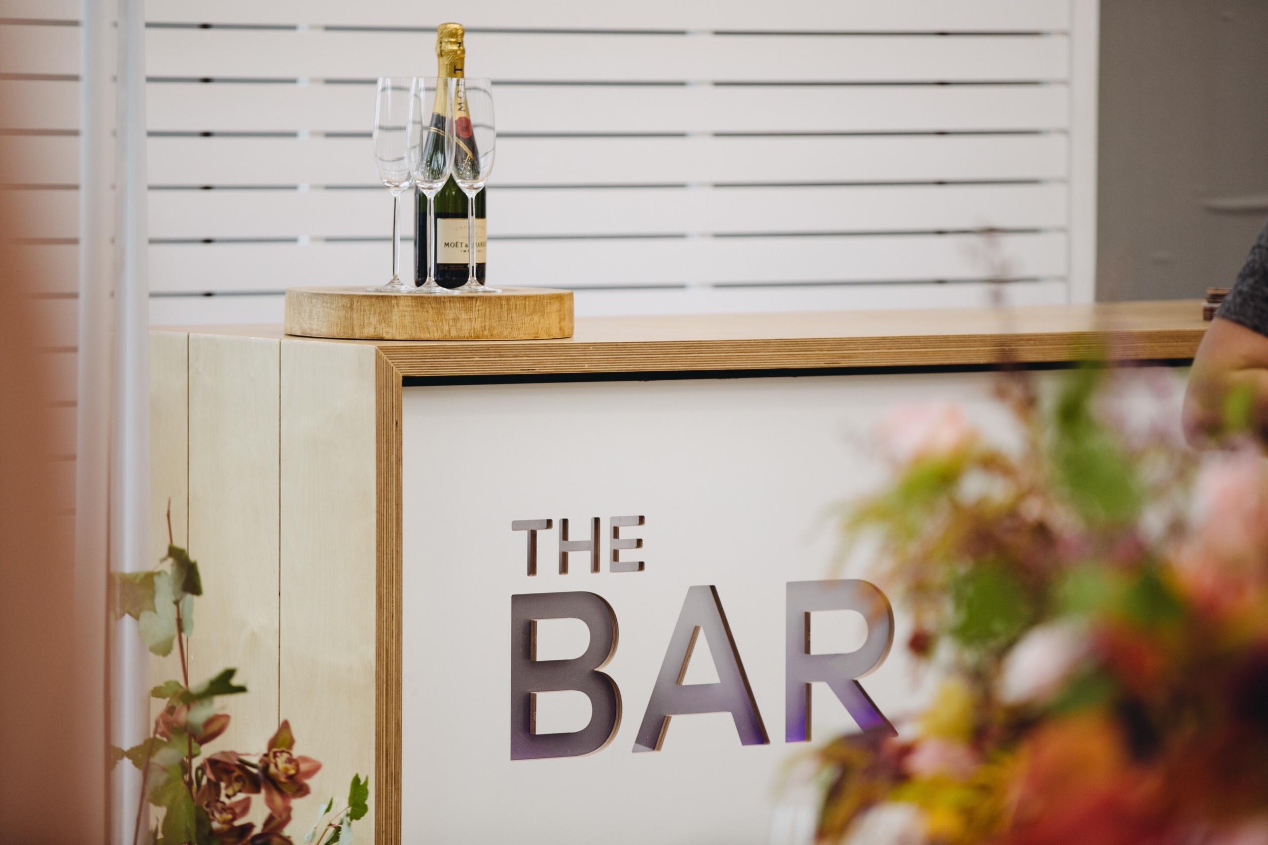 The bar - $150