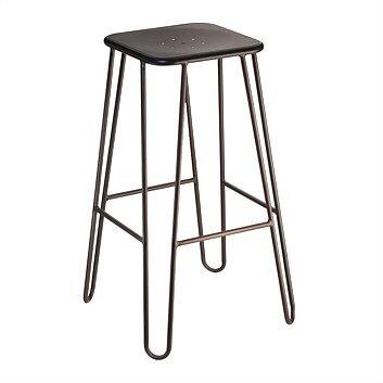 Bar stool - Dark copper - $10