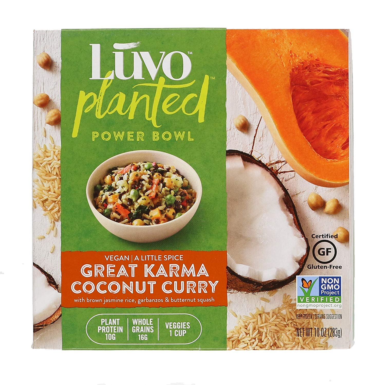 Check out my review of Luvo's Great Karma Coconut Curry Bowl  here !