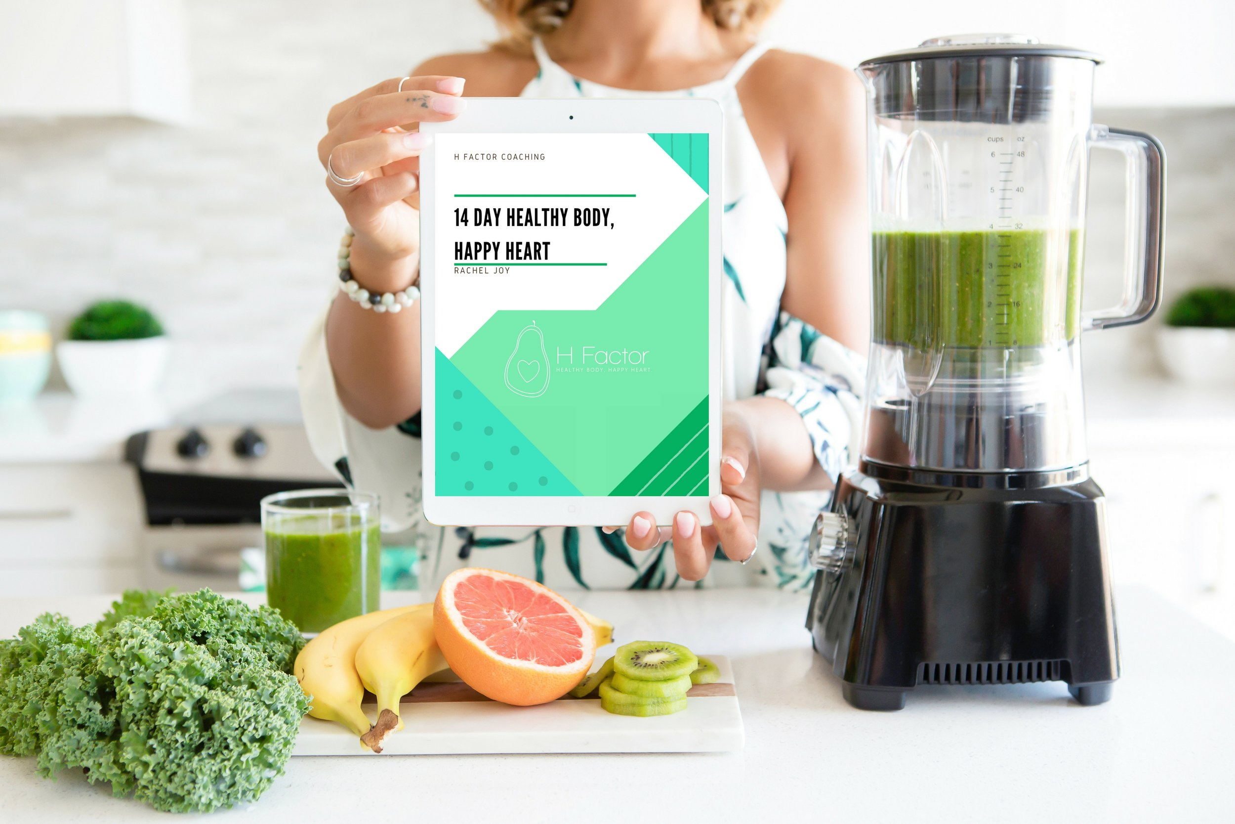 !4 Day Healthy Body, Happy Heart - I am beyond excited to share this 14 day challenge with you! This isn't like your typical fitness guide. Each day is jam packed with a meal plan and recipes to follow, a workout, inspirational quotes to think about, and a daily journaling prompt that promotes self love, and forces you to bust through those blocks so you can transcend to your highest self! Get the first 3 days FREE! If you like it, you can enjoy the rest of the package for just $1 a day! Enter email below to get your copy now.