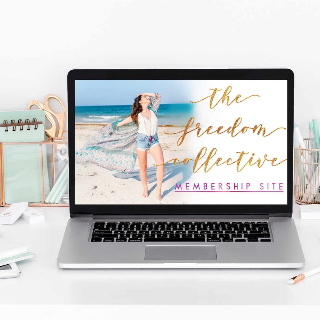 The Freedom Collective Membership Site- opening soon
