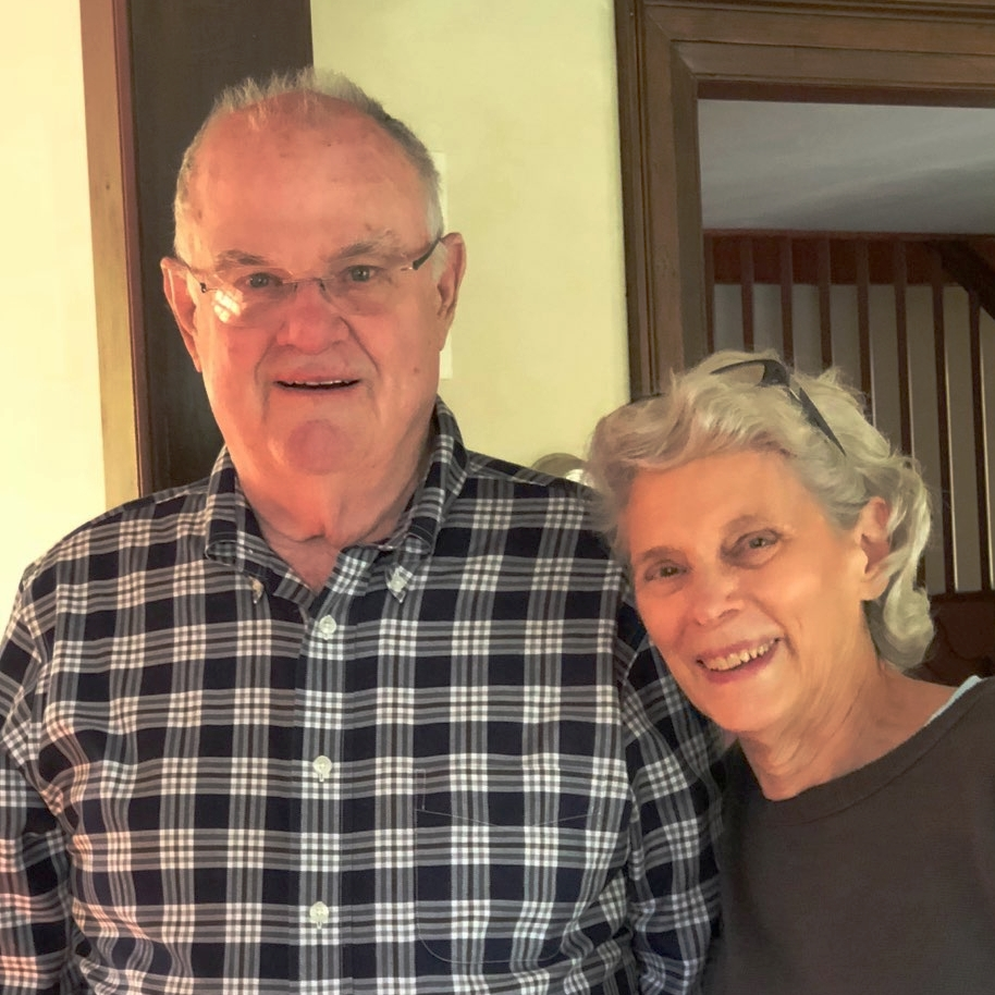 Gary `55 and Avalin Green