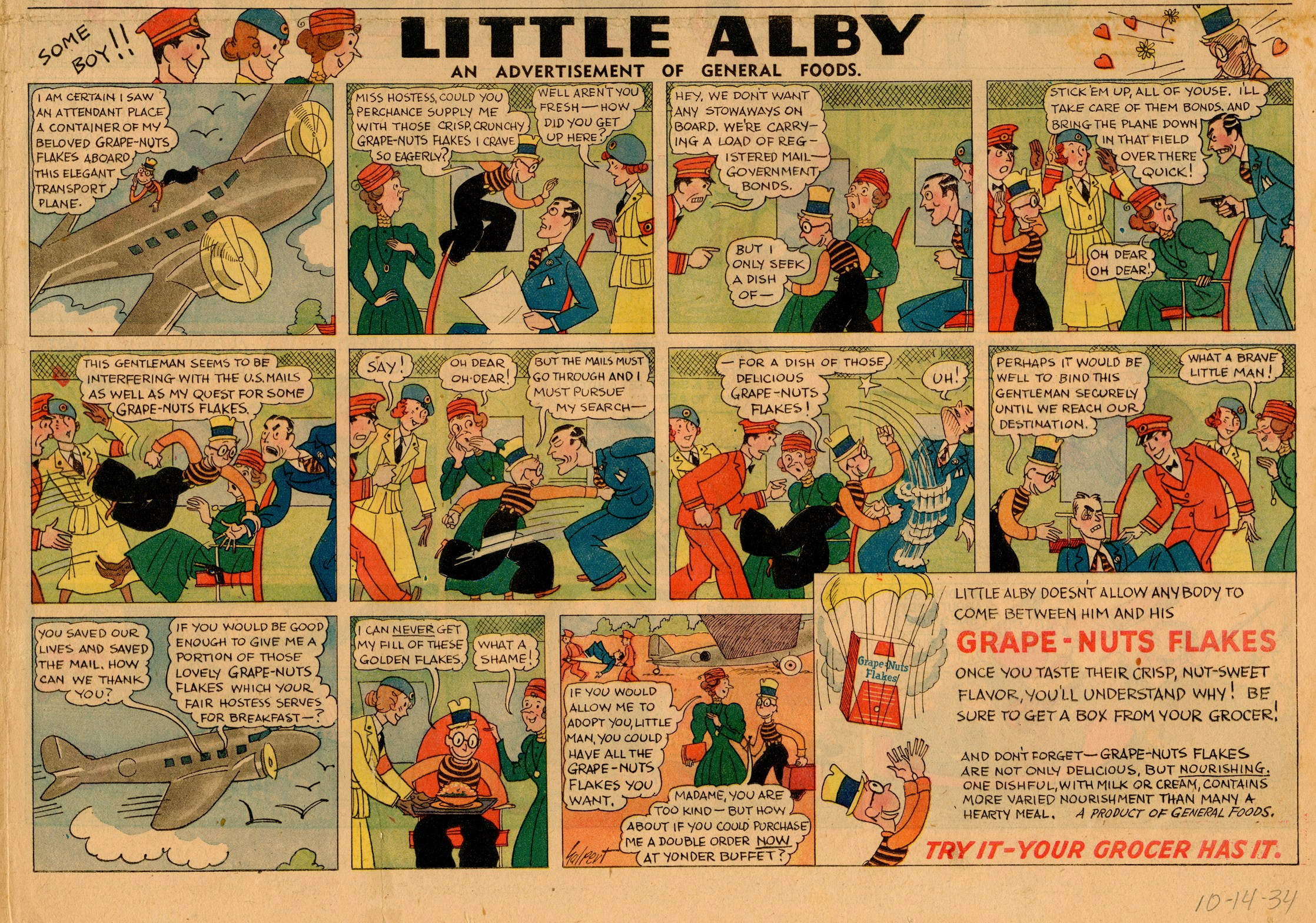 Little Alby, Oct. 14, 1934