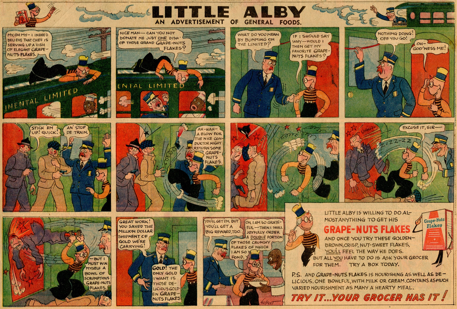 Little Alby for Grape-Nuts
