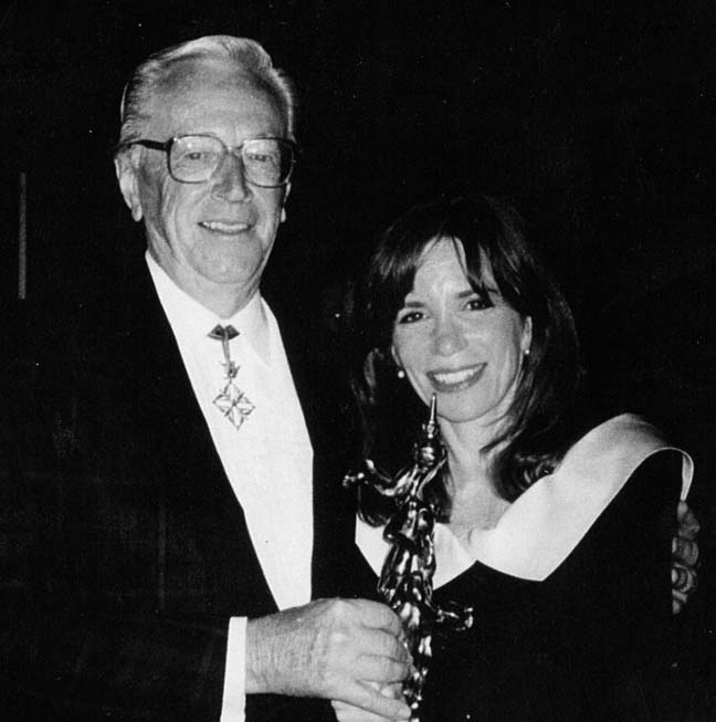 Charles Schulz and Guisewite