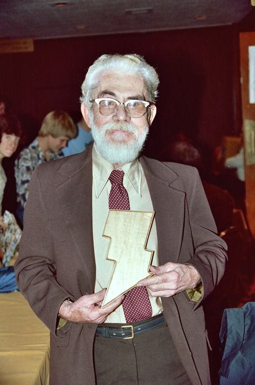 C. C. Beck at a 1982 comics convention