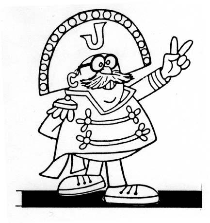 Jay War, as depicted by Bill Scott