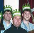 Nick Jennings, Steve Hillenburg, and Derek Drymon (l-r)