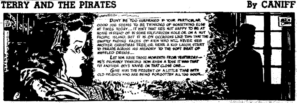 Terry and the Pirates, Dec. 25, 1946