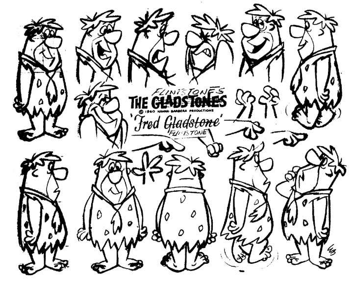 An early character sheet (click to enlarge)