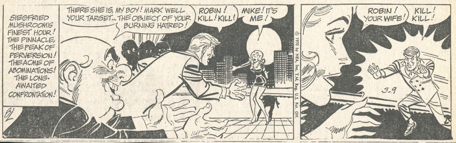 March 9, 1970–the strip that set up the series' ambiguous finale.