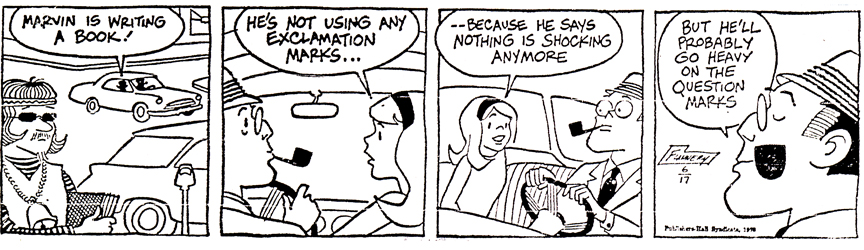 Larry Flannery's take on Penny from June 17, 1970 (click to enlarge)