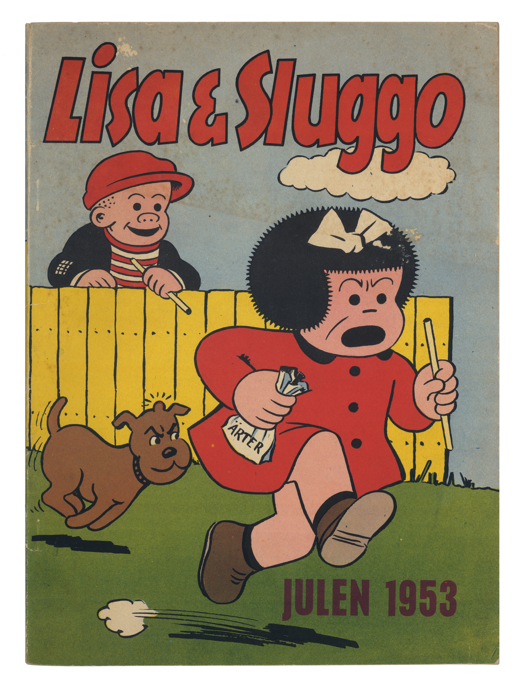 A 1953 Swedish comic book cover (click to enlarge)
