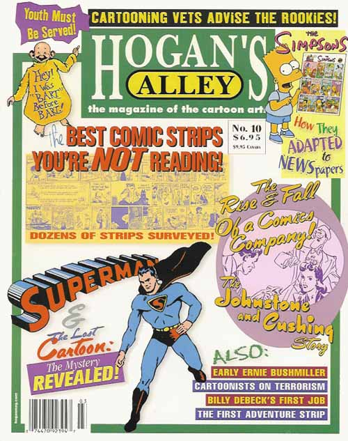 Want to buy the issue where this interview first appeared? Just click the cover and order a copy of  Hogan's Alley  #10!