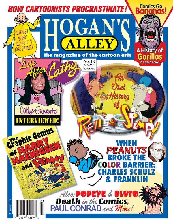 This feature originally appeared in  Hogan's Alley  #18 (cover above). To purchase and download a complete, high-resolution PDF facsimile of the sold-out issue for only $5.99, click the cover image!