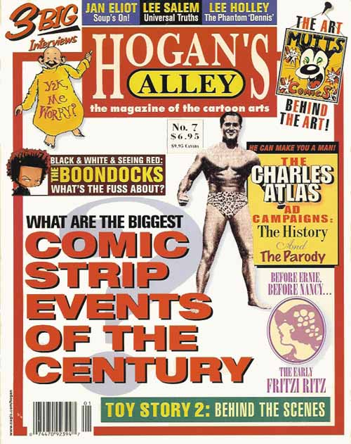 This article originally appeared in  Hogan's Alley  #7 (cover above). To purchase and download a complete, 144-page high-resolution PDF facsimile of this sold-out issue, just click the cover image!