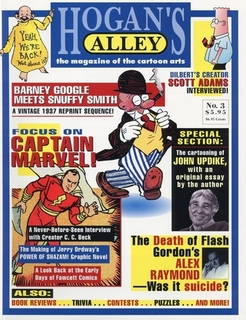 This article first appeared in  Hogan's Alley  #3. (The article in the PDF includes artwork not shown in the online version, including a drawing by Stan Drake done for this article.   ) To purchase and download a complete PDF facsimile of the issue, just click the cover!