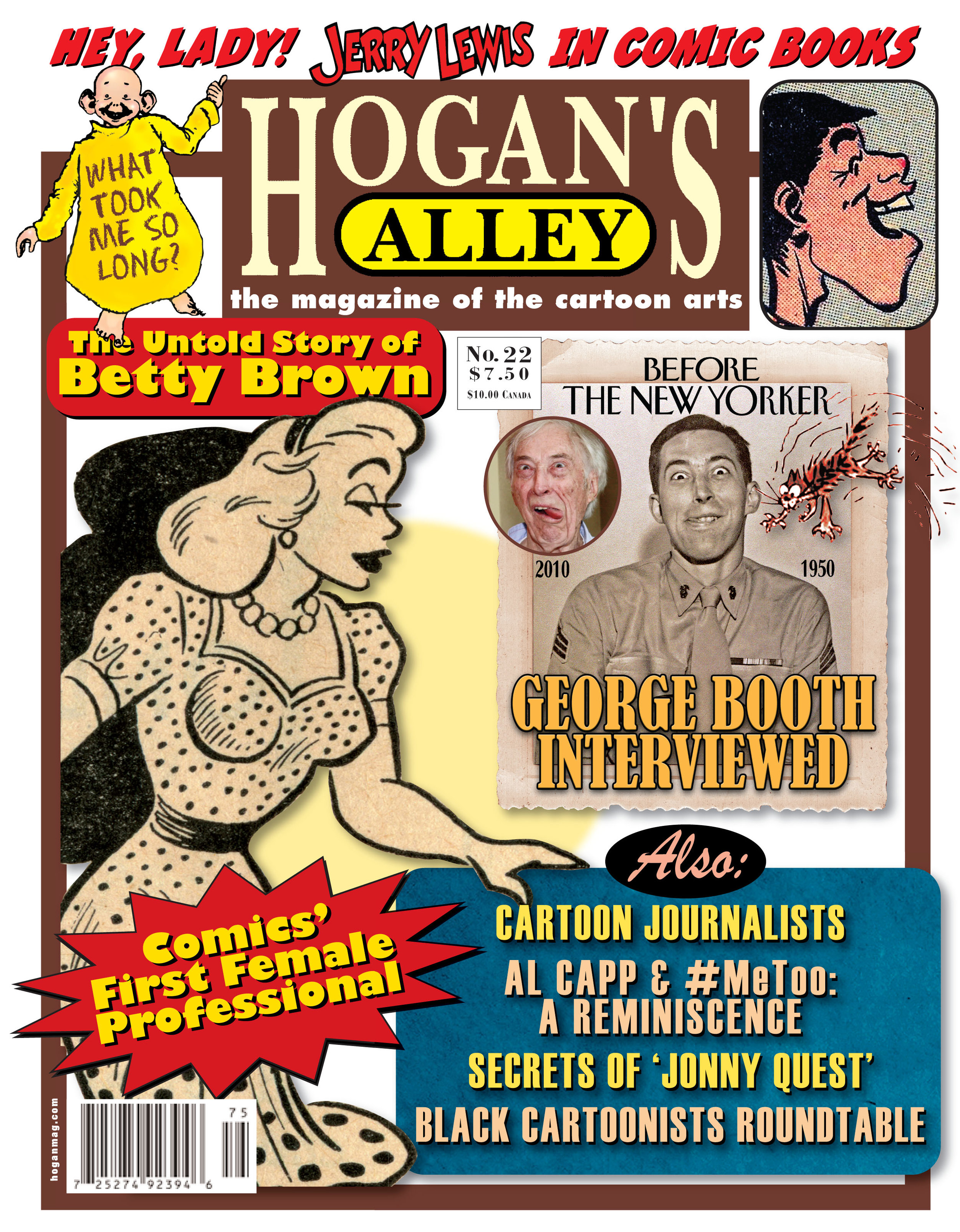 To purchase a physical copy of  Hogan's Alley  #22, which includes the full text of this article and much more artwork not seen here, just click the cover image!