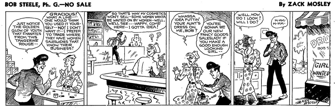 Bob Steele, Ph.G. , July 23, 1934