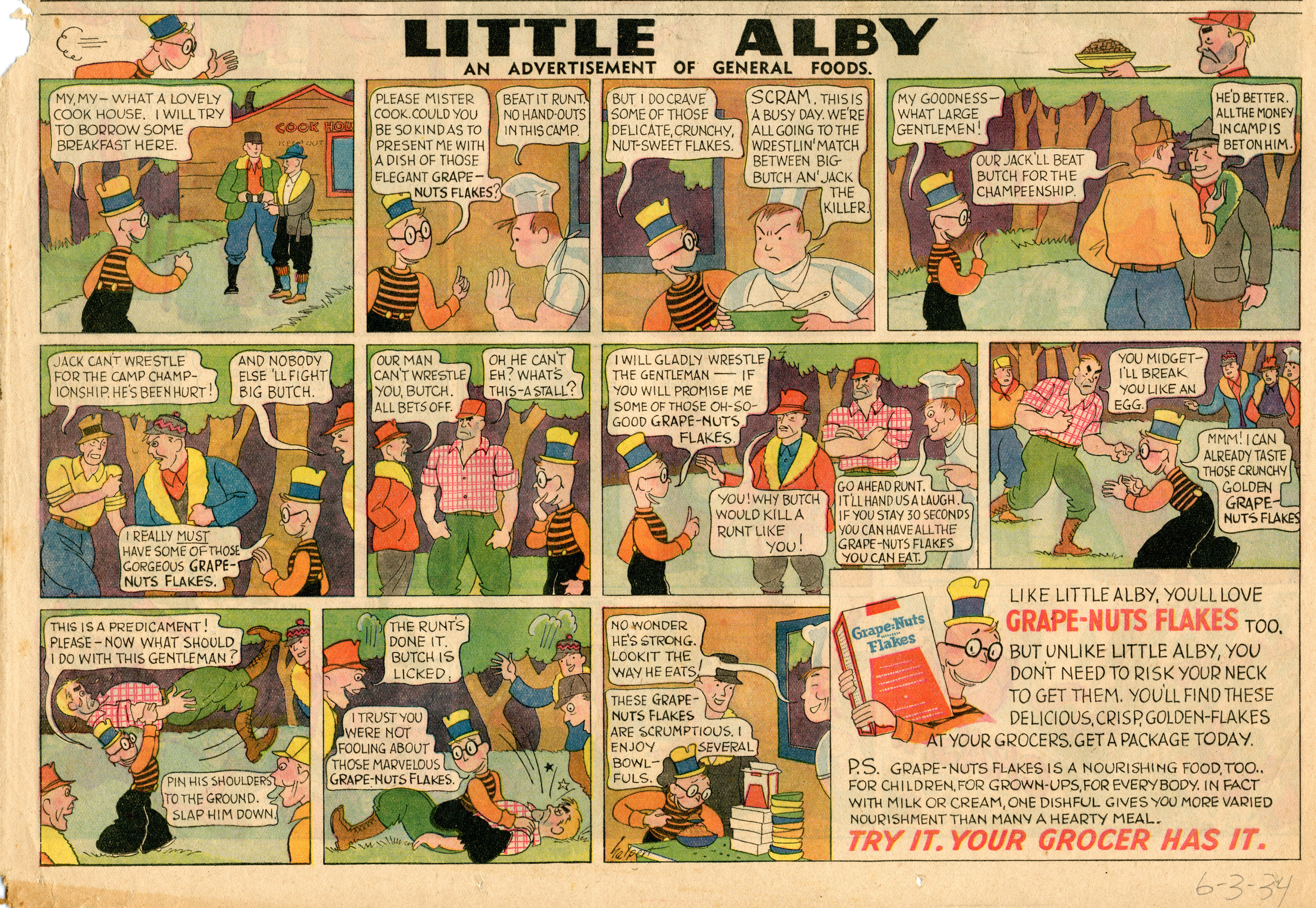 Little Alby, June 3, 1934