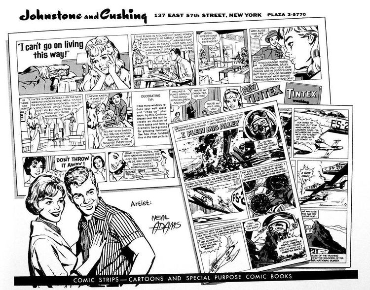 A promotional flyer featuring Neal Adams