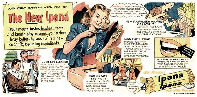 A Stan Drake Ipana ad