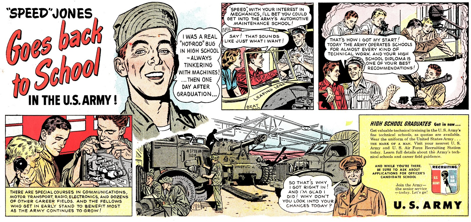 An Army ad by Elmer Wexler