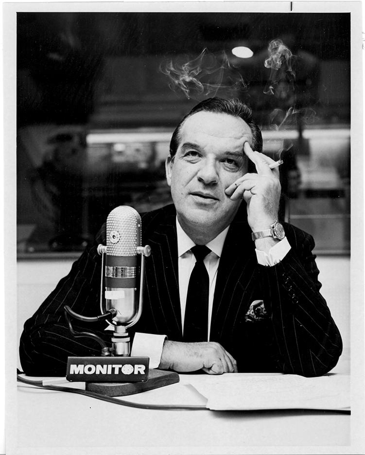 Al Capp, circa 1965. Photo courtesy Denis Kitchen Archives
