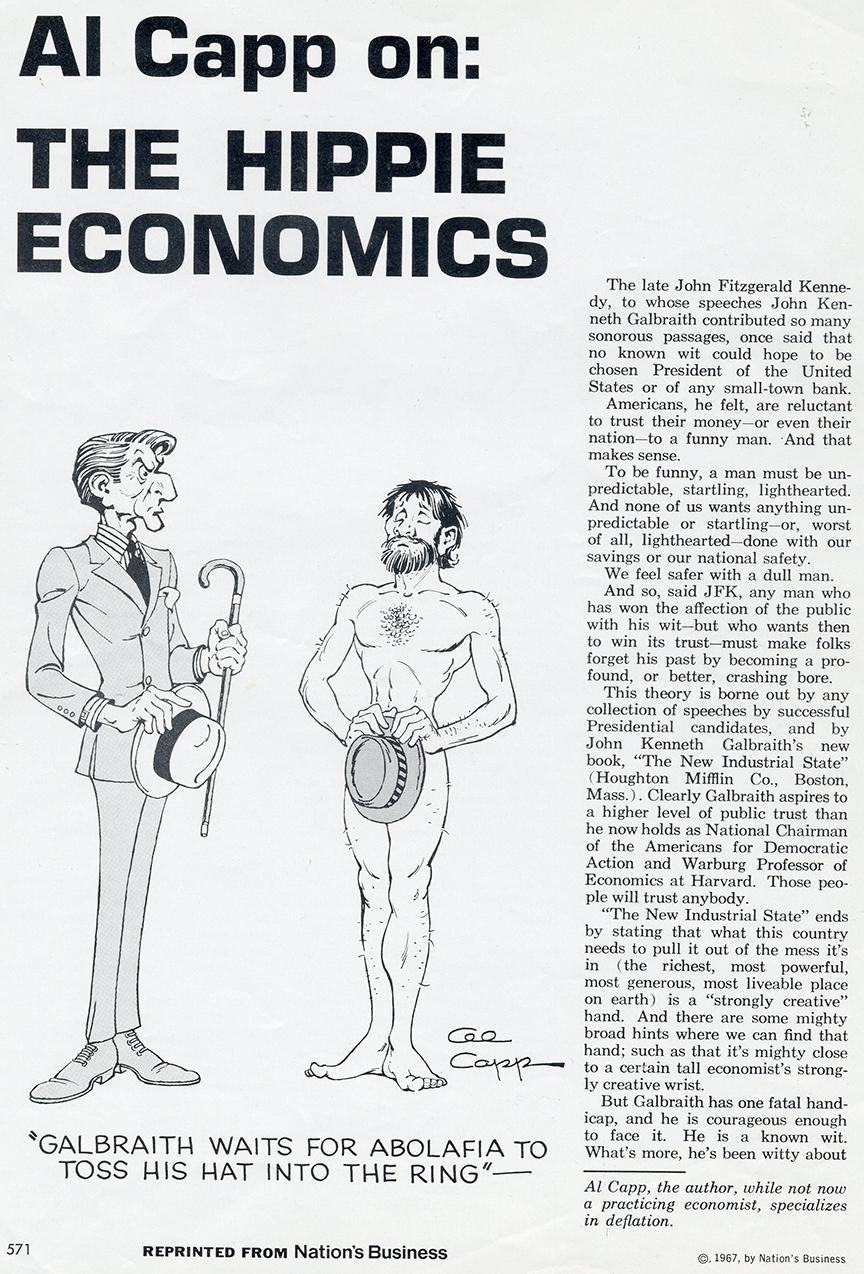 """Hippie Economics,"" page 1"