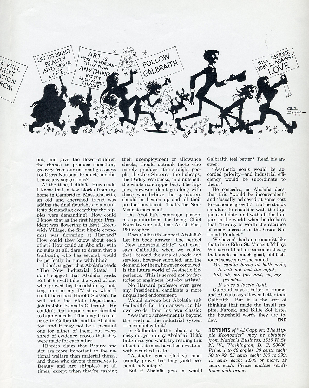 """Hippie Economics,"" page 3"
