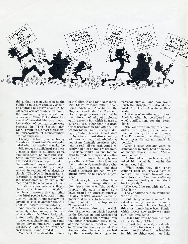 """Hippie Economics,"" page 2"