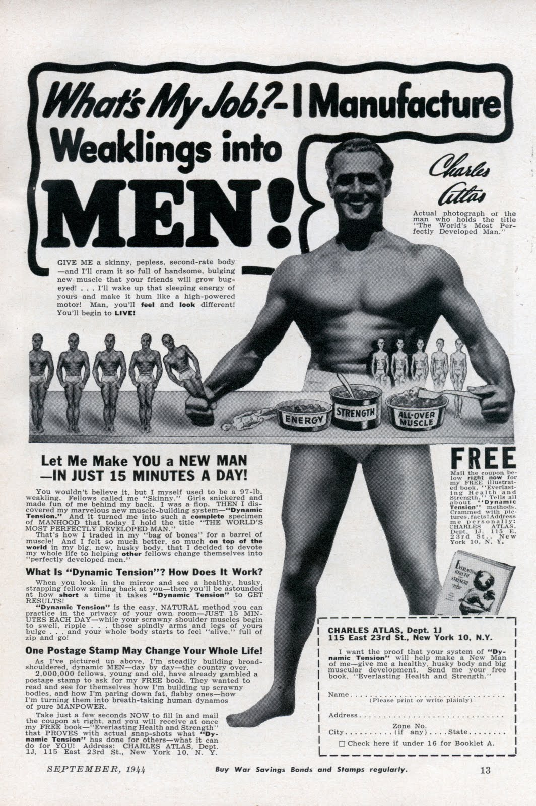 A 1944 advertisement (click to enlarge).