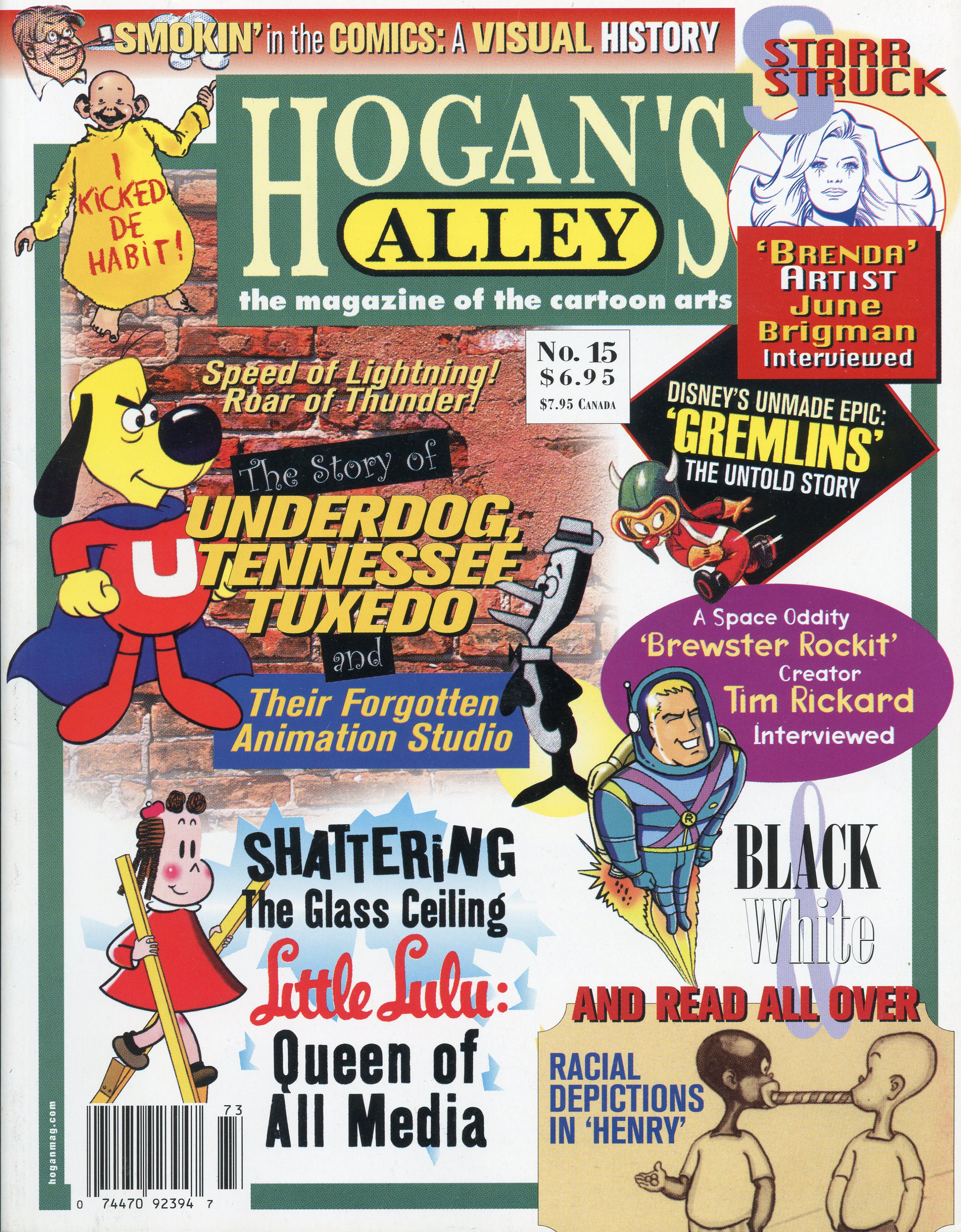 This article was originally published in  Hogan's Alley  #15. To buy a copy of this issue, click the cover image!