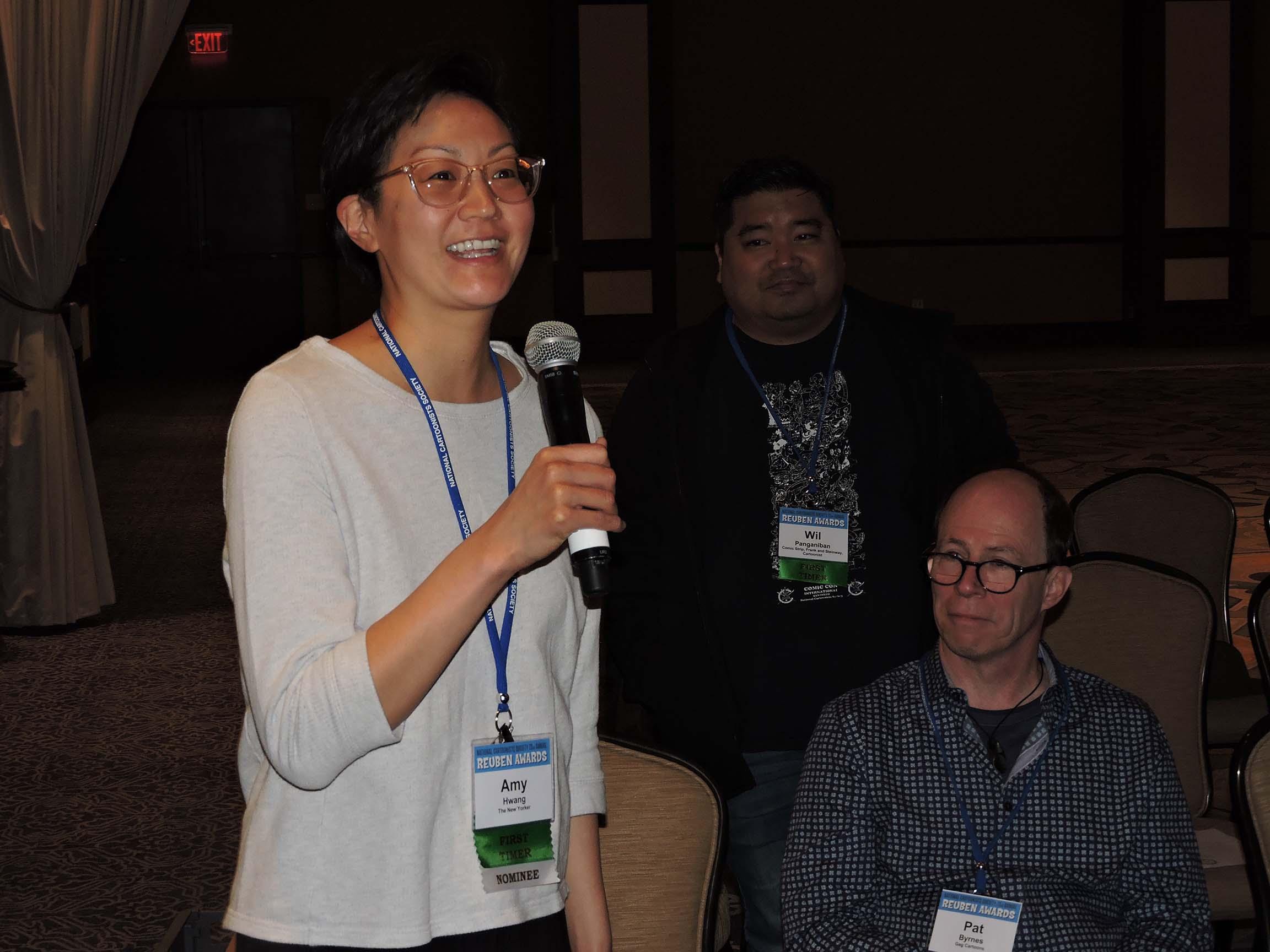 Amy Hwang speaks...