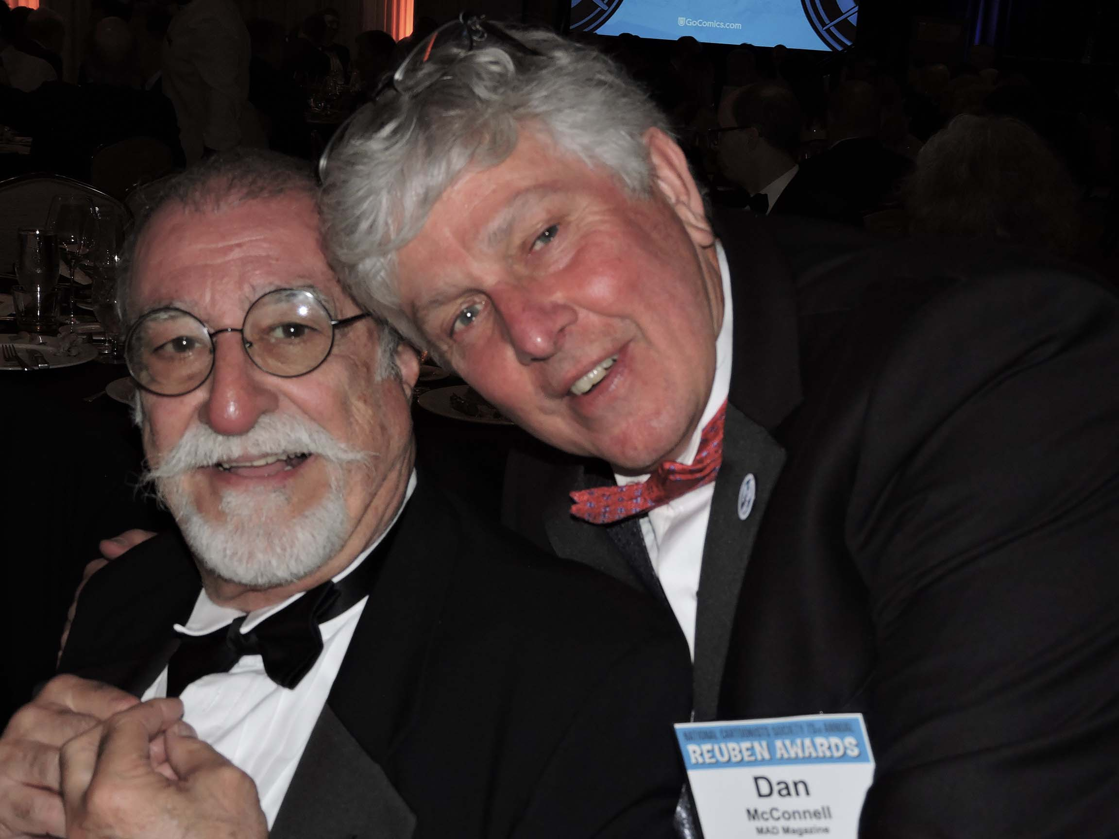 Sergio Aragones and Dan McConnell